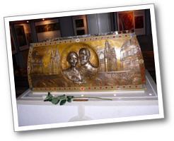 Reliques Louis et Zelie Martin