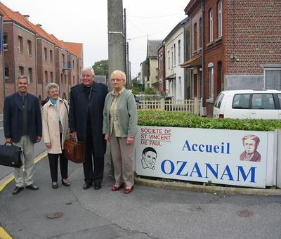 Entrée de l'accueil Ozanam