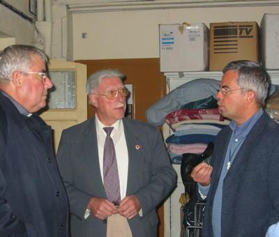 avec Raymond Dubet, le président