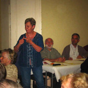 Bernadette, responsable de la Mission Ouvrière