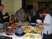 Un magnifique buffet apporté par chacun