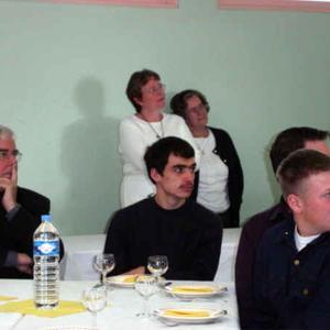 Mgr Garnier avec les lycéens