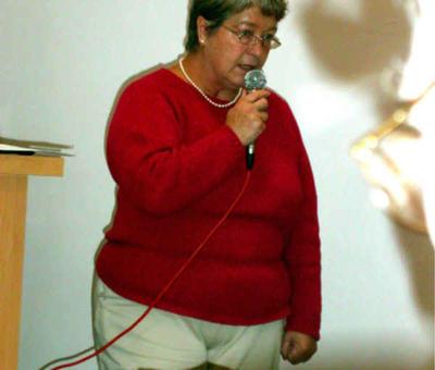 Mme Dorchies, présidente de la mission locale