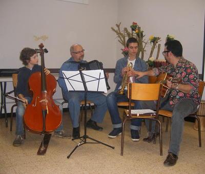 les musiciens de la première retraite