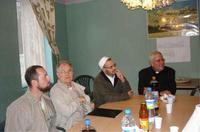 Réception avec l'imam Halitim