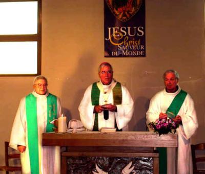 Eucharistie à Aulnoye St Martin