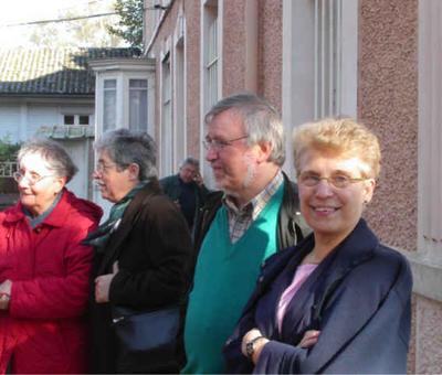 Thérèse, Jean-Marc et Claudette