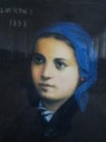 Bernadette à Lourdes