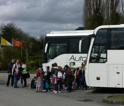 le départ des bus