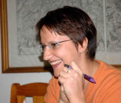 Véronique Bertin, de la Voix du Nord
