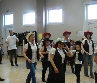 'groupe de danse country'