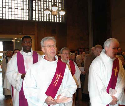 Michel et Louis, diacres