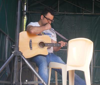 Gérald notre guitariste