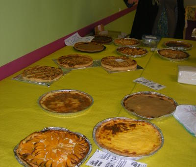 la table des desserts