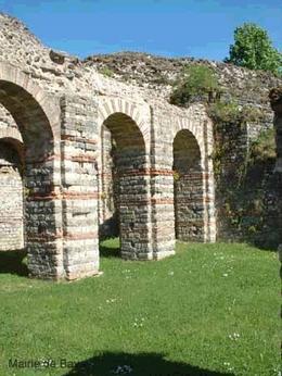 Crypto-portiques de la ville romaine