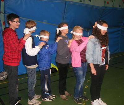 un atelier de découverte sensorielle