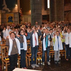 4 mai 2013 à Avesnes une centaine de jeunes