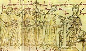 Autorisation accordée par l'empereur OTTON à l'évêque de Cambrai de battre monnaie
