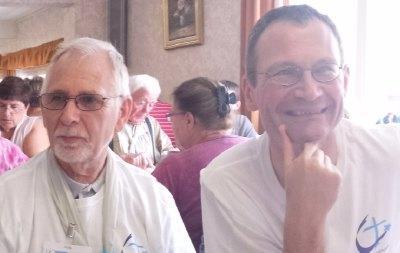 Une belle équipe de prêtres accompagnateurs