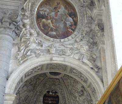 Un autre détail de la chapelle