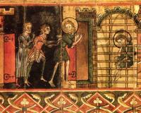 Manuscrit du XIIème siècle, British Museum, Londres