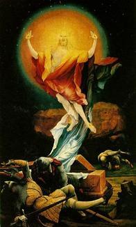 christ ressuscité Grünewald_min