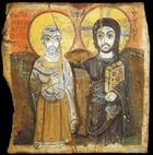 Icône Copte - Vlenas u Xt, s Beschüter