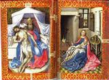 Robert Campin - Compassion du Père et Vierge à l'enfant (vers 1425 - 1430)