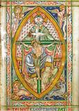 Trône de Grâce - Missel de Cambrai (vers 1120)