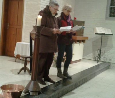 Françoise et Claire-Marie