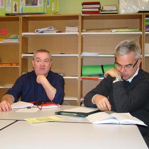 Pascal et Jean Marie