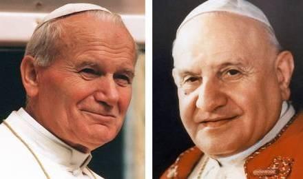 Jean Paul 2 et Jean 23
