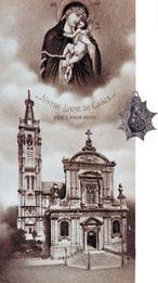 Médaille 1649.  Délivrance de Cambrai assiégée par les troupes  françaises du Cardinal Mazarin.  Image XIXè Arch. Dioc. Cambrai