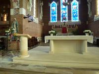 Aménagement liturgique de l'église Notre-Dame des