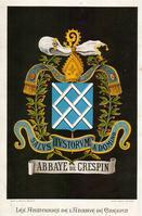 armoiries de l'abbaye de Crespin zoom