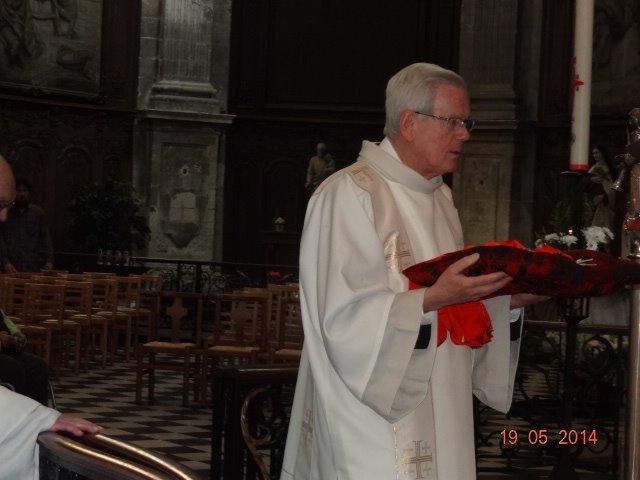 Robert Carémiaux, diacre