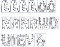 Ex de lettres p 2