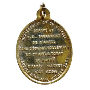 Medaille Jubile seculaire 1855 (revers)
