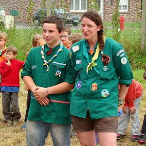 Aurélien et Manon, chefs louveteaux