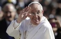 pape francois salut