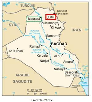 carte d'Irak 2
