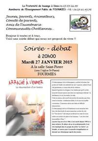 soiree debat resurrection d'un toxico