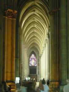 Nef de la cathedrale de Reims
