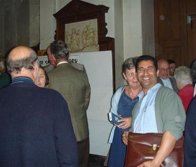 vin d'honneur luc oswald (1)