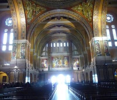 04.-. La Basilique - Mosaique