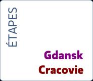 Etapes Gdanskkrakow