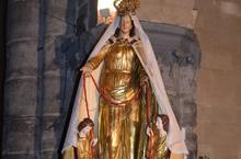 Notre-Dame-du-Saint-Cordon dans ses habits de lumière
