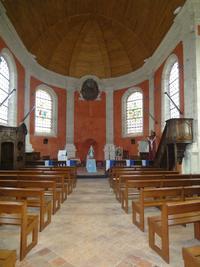 Intérieur de l'église de Oisy