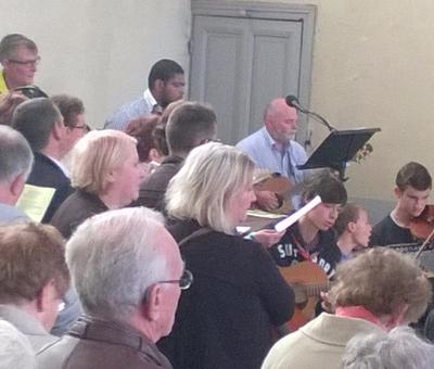 la chorale et l'orchestre