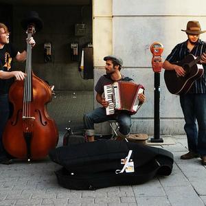 musiciens rue